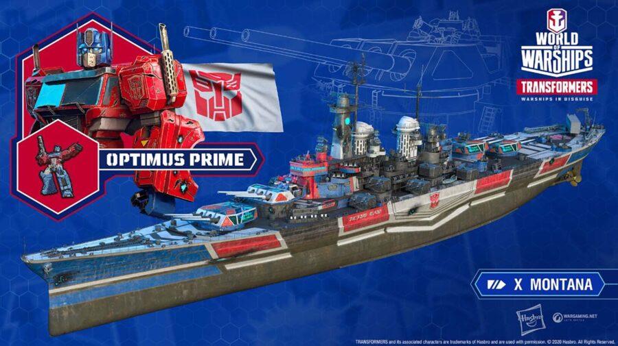 World of Warships receberá em setembro conteúdo inspirado nos Transformers