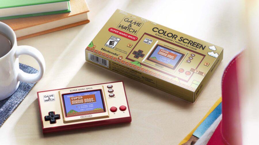 Game & Watch ganhará edição colecionável com Super Mario Bros.