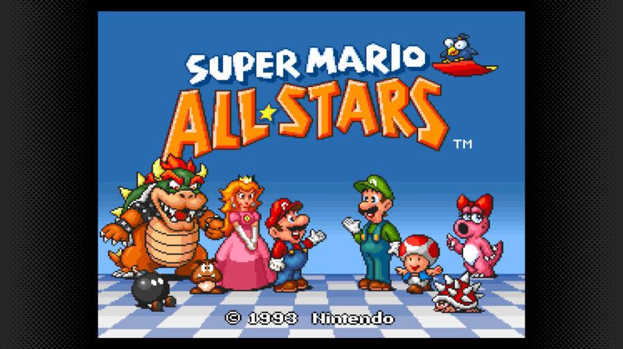 Super Mario All-Stars do SNES disponível para assinantes Nintendo Switch Online