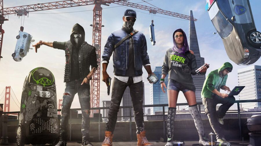 Watch Dogs 2 grátis para PC na Epic Games Store