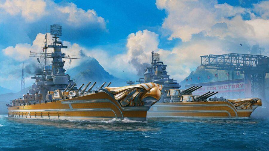 Novos navios de guerra americanos chegam hoje em World of Warships