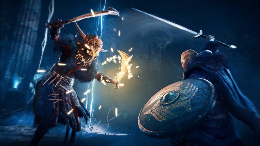 Assassin's Creed Valhalla ganhará modos de qualidade e performance no PS5 e Xbox Series