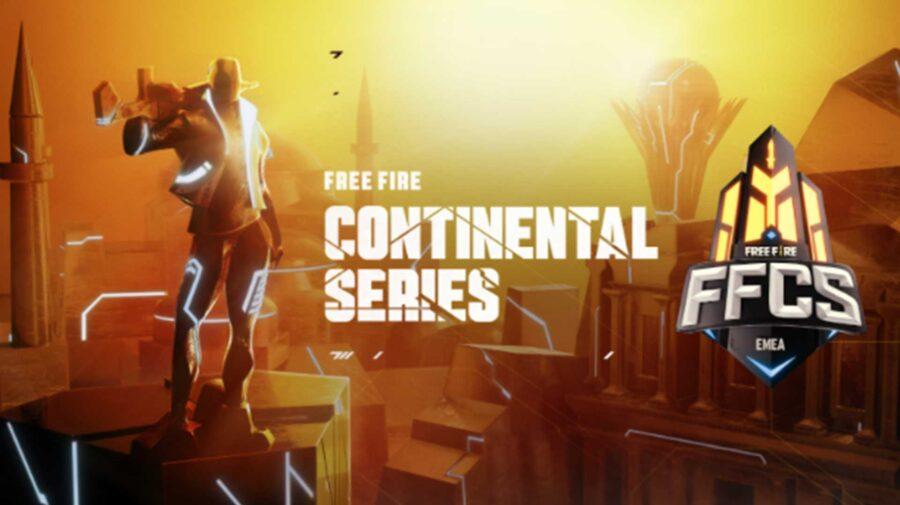 Free Fire Continental Series começa neste fim de semana