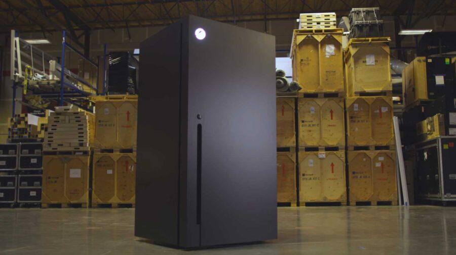 Microsoft revela promoção na qual sorteará uma geladeira Xbox Series X