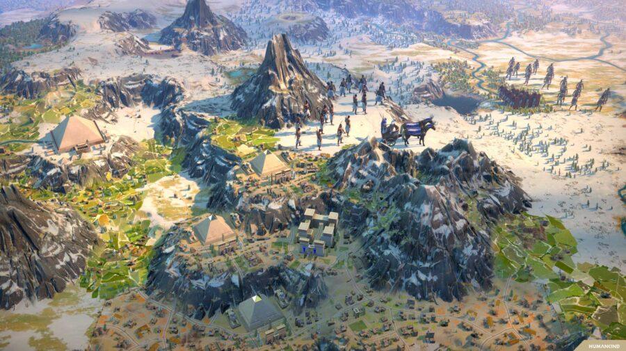 Humankind entra em pré-venda e será lançado em abril de 2021 para PC e Stadia