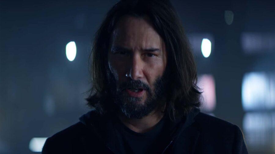 Keanu Reeves é a estrela em comercial de Cyberpunk 2077