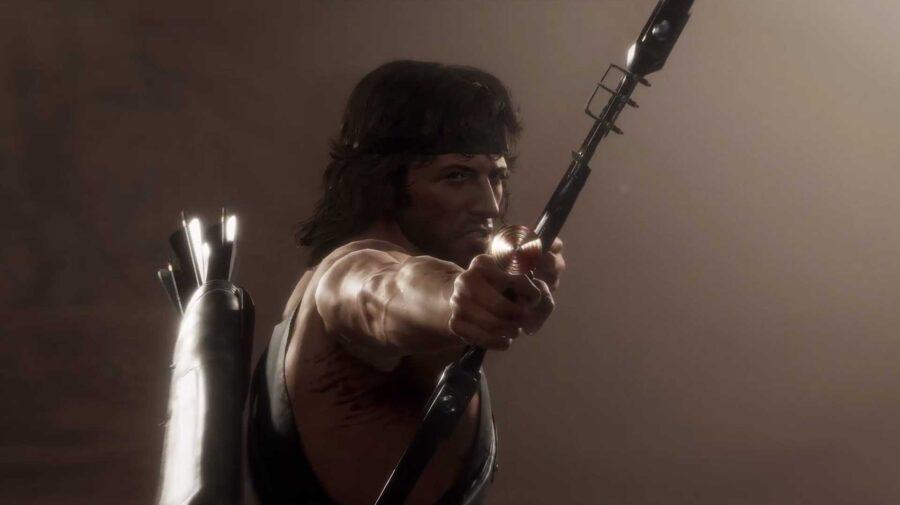 Rambo não tem piedade dos adversários em novo vídeo de Mortal Kombat 11