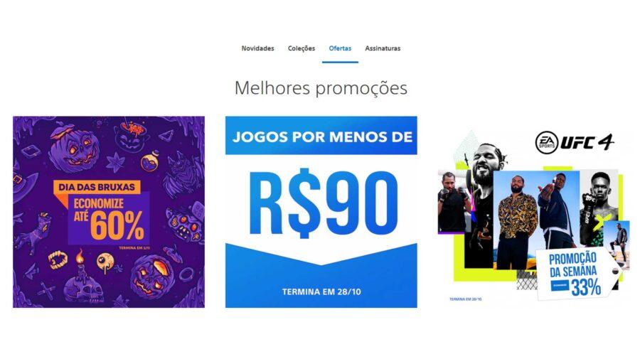 Com design mais simples, nova PlayStation Store já esta no ar no Brasil para PC e mobile