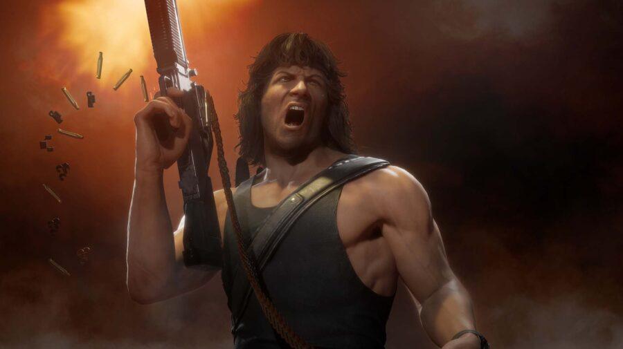 Estúdio confirma que a voz do Rambo em Mortal Kombat 11 é de Sylvester Stallone