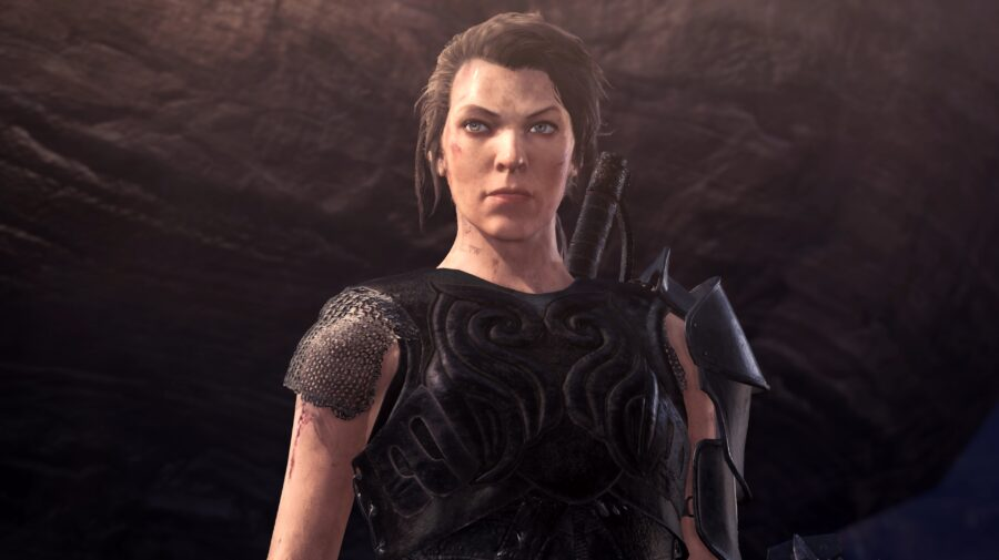 Milla Jovovich se tornará personagem jogável em Monster Hunter World: Iceborne