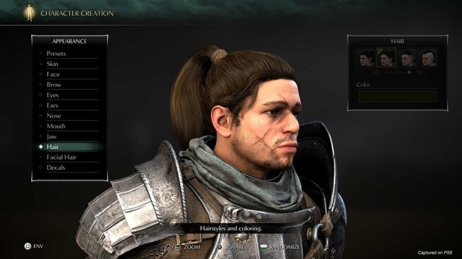 Sony mostra criador de personagens e modo fotografia de Demon's Souls