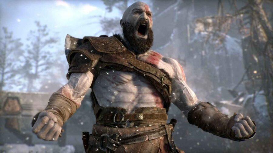 God of War aparentemente roda em 4K e 60 fps no PS5 sem atualizações instaladas
