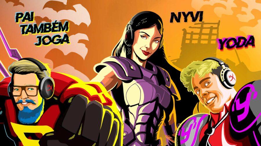 HyperX Heroes: Embaixadores da HyperX contam com 25 novos heróis, incluindo três brasileiros