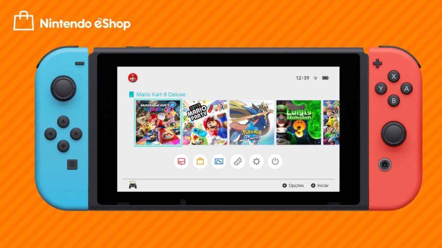 Nintendo eShop chega ao Brasil em 7 de dezembro