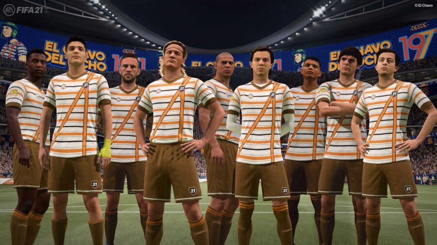 FIFA 21 recebe desafios no FIFA Ultimate Team para celebrar os 50 anos do Chaves