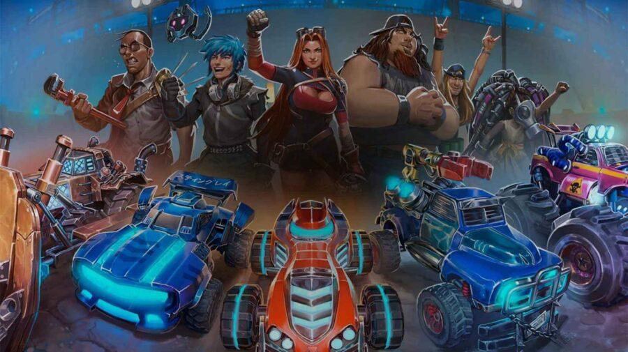Estúdio brasileiro Hoplon lançará Heavy Metal Machines para consoles no começo de 2021