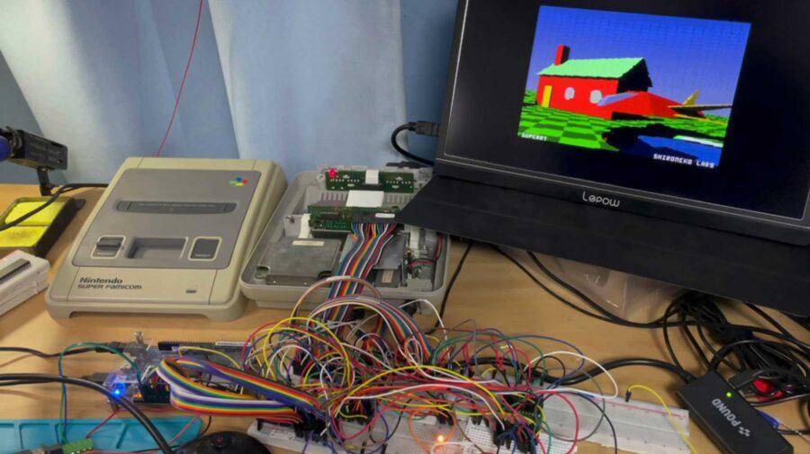 Desenvolvedor consegue adicionar suporte para Ray Tracing no Super Nintendo