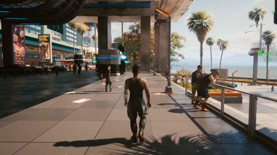Mod permite jogar Cyberpunk 2077 em terceira pessoa