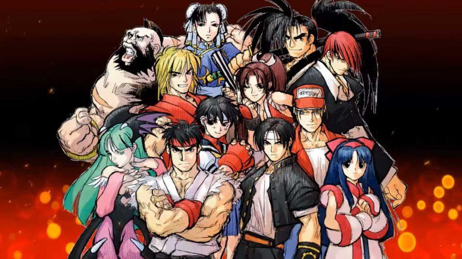 SNK VS. Capcom: The Match of the Millennium já está disponível para Switch