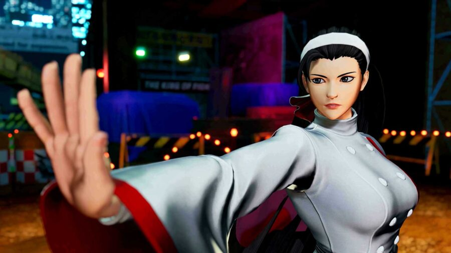 Chizuru Kagura é introduzida em The King of Fighters XV e fará equipe com Kyo e Iori