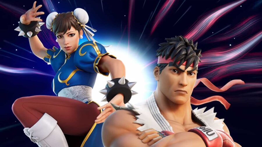 Ryu e Chun-Li chegam neste fim de semana em Fortnite