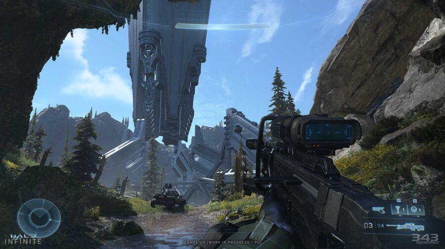 Novas imagens de Halo Infinite mostram evolução nos gráficos
