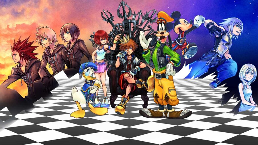 Jogos da série Kingdom Hearts serão lançados para PC em 30 de março na Epic Games Store