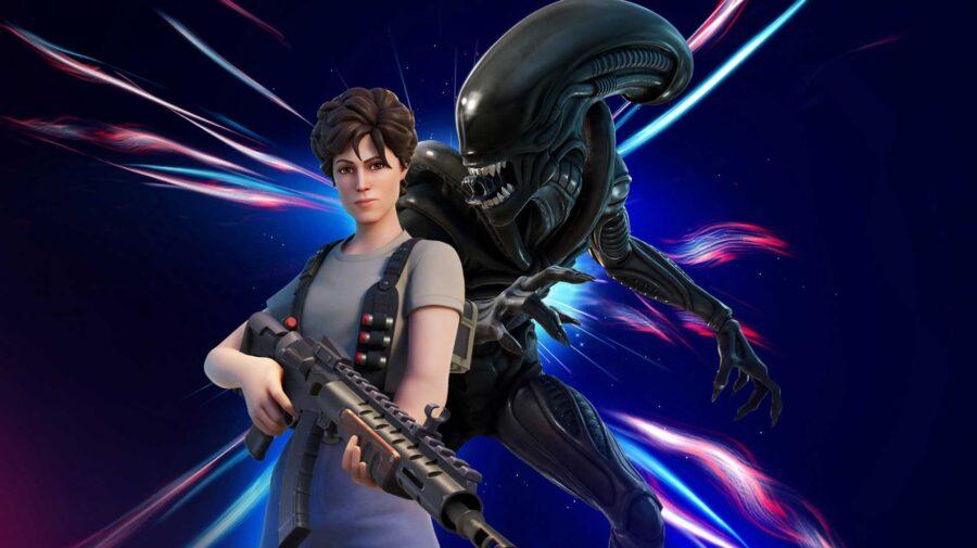 Ripley e Xenomorfo, da franquia Alien, são incluídos em Fortnite
