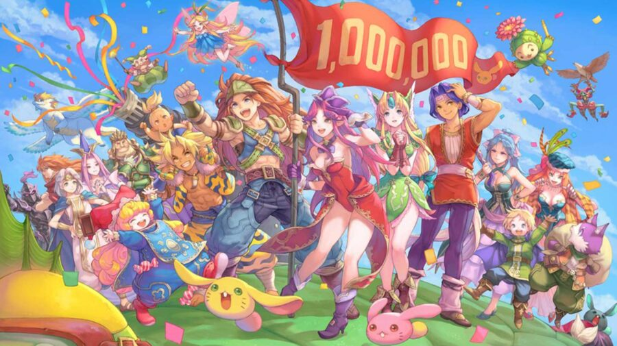 Remake de Trials of Mana supera 1 milhão de cópias vendidas