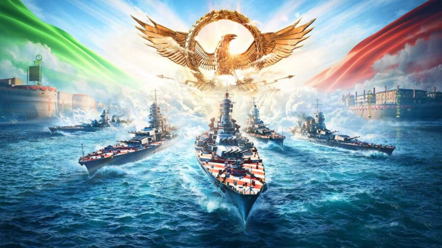Novos encouraçados italianos chegam ao World of Warships