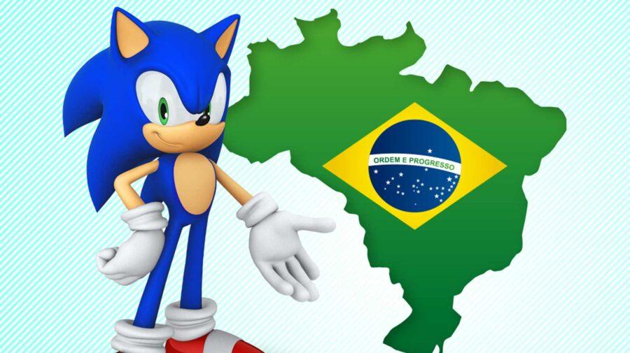 Redes sociais oficiais de Sonic the Hedgehog estreiam no Brasil