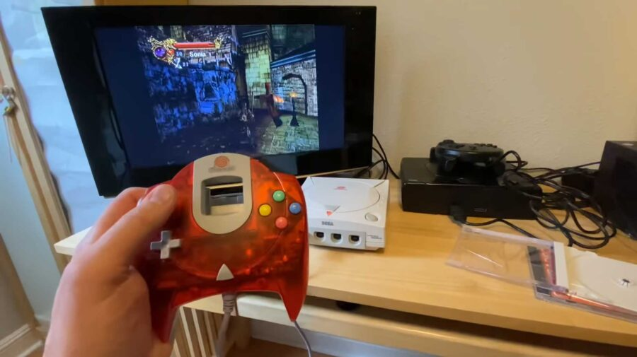 Protótipo de Castlevania: Resurrection para Dreamcast é encontrado após mais de 20 anos