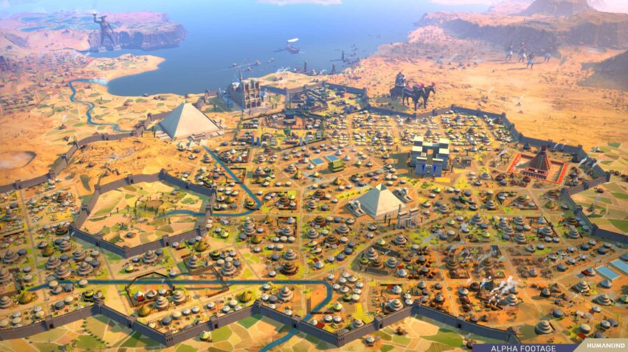 Novo mapa é incluído em Humankind e pode ser testado por quem comprar o jogo em pré-venda