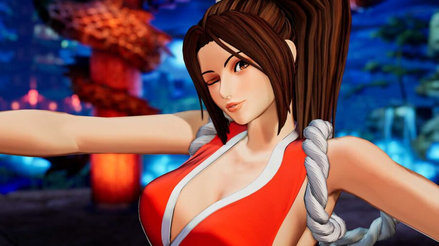 Mai Shiranui une força e beleza em trailer para The King of Fighters XV