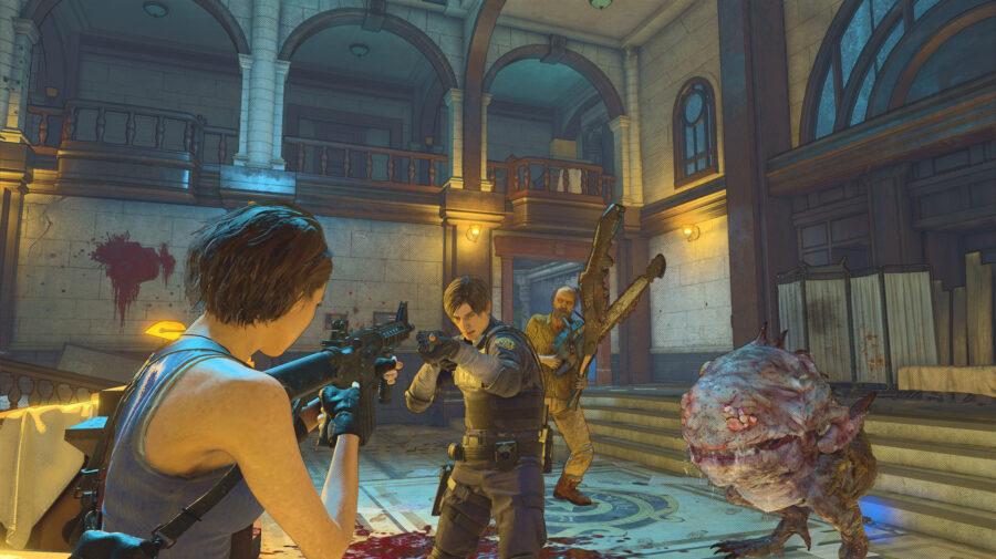 Capcom suspende beta aberto de Resident Evil Re:Verse após problemas de matchmaking