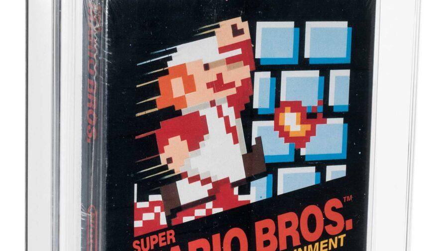 Cópia rara e impecável de Super Mario Bros. é vendida por US$ 660 mil