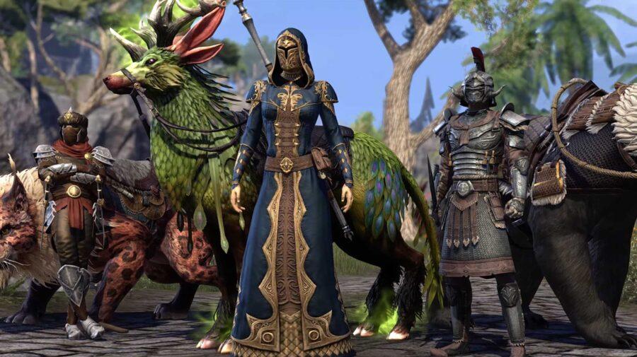 The Elder Scrolls Online será atualizado com melhorias no PS5 e Xbox Series em 8 de junho