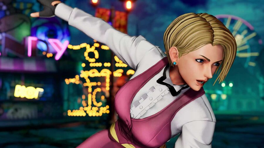 King mostra seus chutes poderosos em novo trailer de The King of Fighters XV